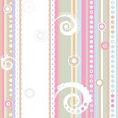 Seamless striped pattern (vector) — Wektor stockowy