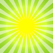 Abstract green-yellow background — ストックベクタ