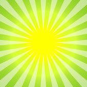 Abstrait vert-jaune — Vecteur