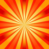Abstract background with sunburst — Stock Vector