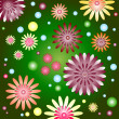 Royalty-Free Stock Vector Image: Beautiful  floral background