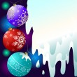 Royalty-Free Stock Векторное изображение: Abstract christmas background