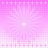 Gentle pink abstract background — Stock Vector