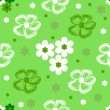 Abstract seamless floral pattern — ストックベクタ