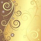 Elegant floral background (vector) — Stock Vector