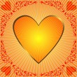 Royalty-Free Stock Imagen vectorial: Abstract valentine frame