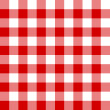 Seamless red and white cell pattern — Stock Vector