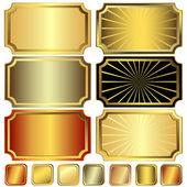 Collection frame (vector) — Stock Vector