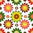Royalty-Free Stock Immagine Vettoriale: Seamless floral vivid pattern (vector)
