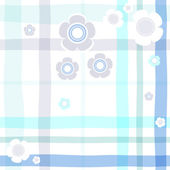 Seamless gentle blue pattern — Stock Vector
