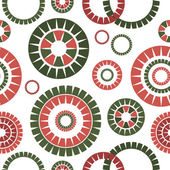Abstract seamless pattern (vector) — Wektor stockowy