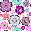 Royalty-Free Stock ベクターイメージ: Seamless floral pattern