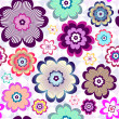 Royalty-Free Stock Immagine Vettoriale: Seamless floral pattern