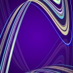 Dark violet background — Stock Vector