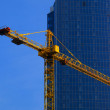 Royalty-Free Stock Photo: Crane and building office