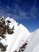 Snow ridge — Stock Photo