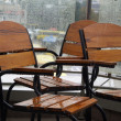 Stock Photo: Rain in cafe