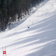 Ski slope — Foto Stock