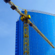 Stock Photo: Crane and building office