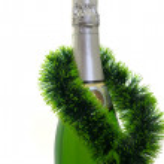 Champagne bottle — Stock Photo