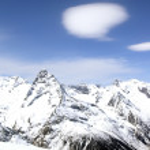 station de ski — Photo