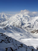 Snowy plateau — Stock Photo