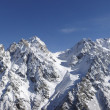 Panorama of high mountains — Stock Photo