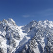 Stock Photo: Panorama Caucasus Mountains