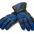 Stock Photo: Pair of winter ski gloves