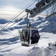 Stock Photo: Ski lift. Caucasus. Elbrus