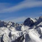 Panorama Caucasus Mountains — Stock Photo #2582313