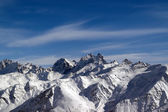 Panoramic view from Elbrus — Stock Photo