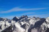 Panoramic view from Elbrus — Stock Photo