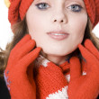 Winter woman — Stock Photo #2249098