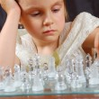 Royalty-Free Stock Photo: Chessplayer child