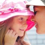 Kids romance first love — Stock Photo