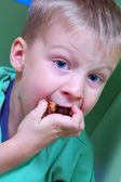 Hungry child — Stock Photo