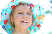 Bright summer smile — Stock Photo