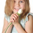 Child with a rose — Stock Photo #1012949