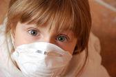 Flu panic — Stock Photo