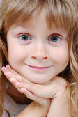 Sweet smiling girl — Stock Photo