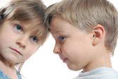 Rozdělení přátel dětí — Stock fotografie