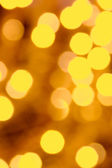Golden background lights — Stock Photo