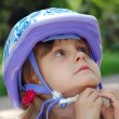 Royalty-Free Stock Photo: Child with helmet