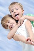 Amigos felices — Foto de Stock
