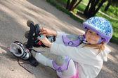 Rollerblading — ストック写真