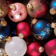 Royalty-Free Stock Photo: Decoration balls as Christmas background