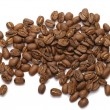 Coffee Beans on white — Stock Photo