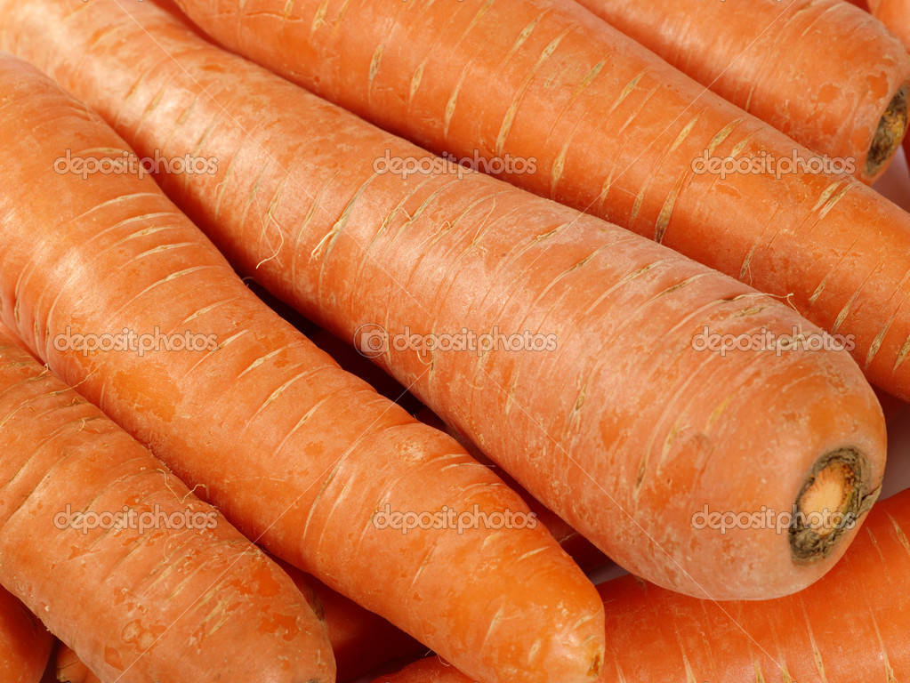 Fresh taste carrots as food background. not isolated — Stock Photo #1046824