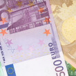 Money background from euro banknotes — Stock Photo #1191621
